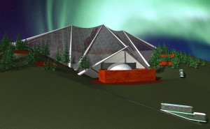 Amphitheater Proposal, Edmonton, Alberta Canada