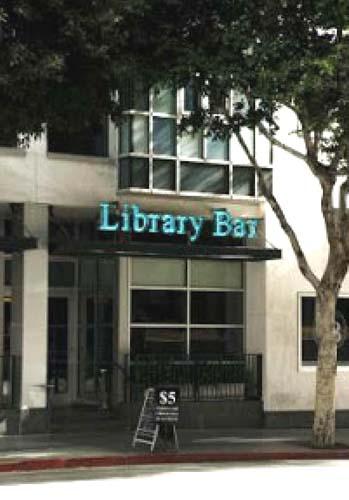 Library bar facade