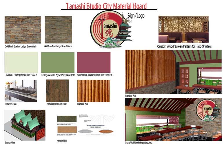 Tamashi Material Board